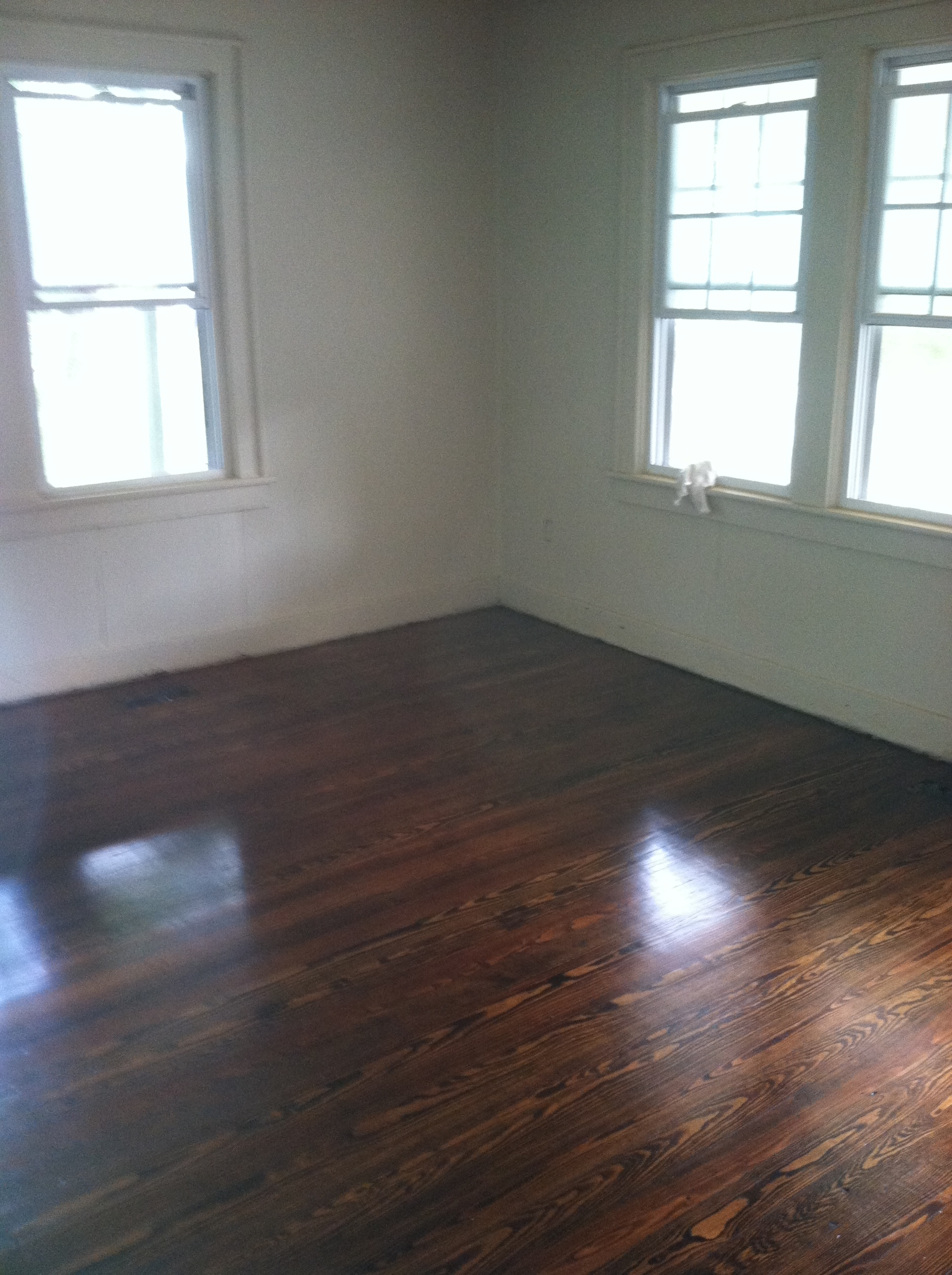how to clean old hardwood floors without sanding
